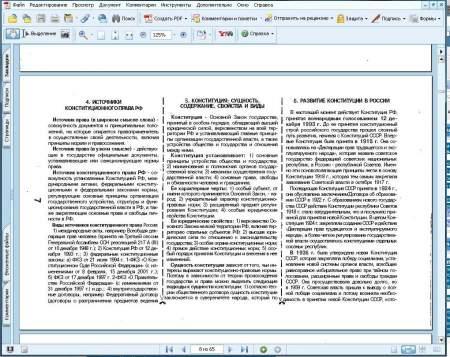 Шпаргалки по конституционному (государственному) праву России
