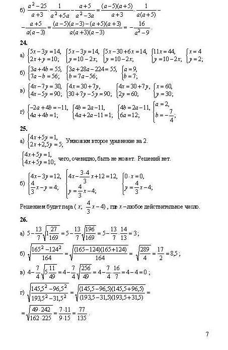 Найти ГДЗ по Алгебре I