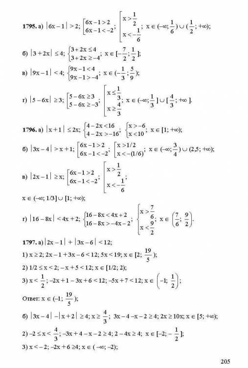алгебра и начала анализа. задачник для 10-11 класса решебник